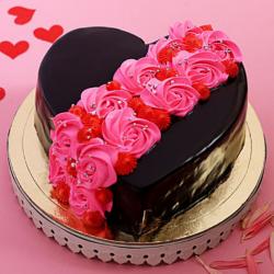 Colorful Chocolate Cake