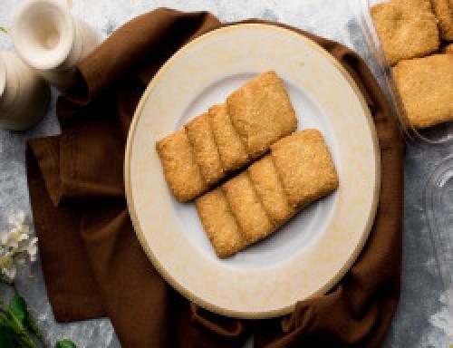 Coconut Square Cookies [250 Gram]