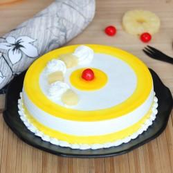 Glossy Pineapple Cake