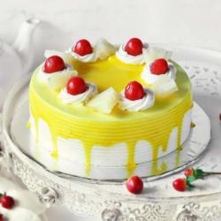 Round Pineapple Cake [500g]