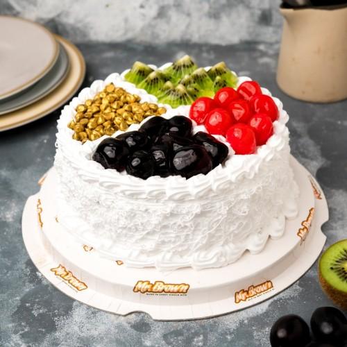 Delicious Fresh Fruit Cake [1kg]