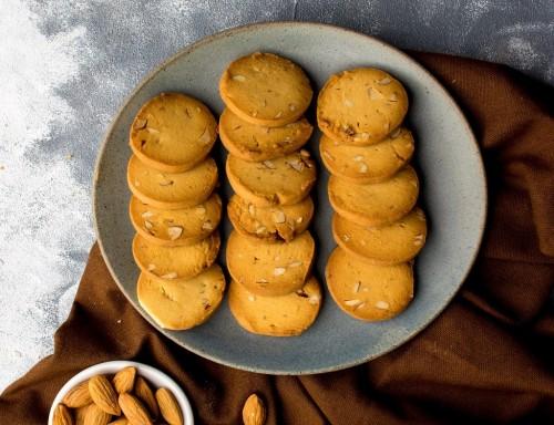 No Added Sugar Almond Cookies [250 Gram]