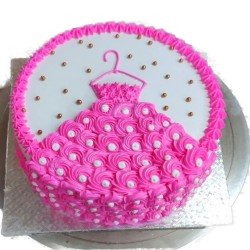 Pineapple Theme Cake [500 Gram]