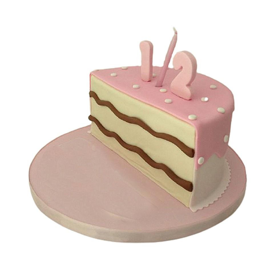 CAKE FONDANT STRAWBERRY 6 MONTH D1 (E/G)