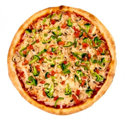 CRISPY VEGGIE PIZZA