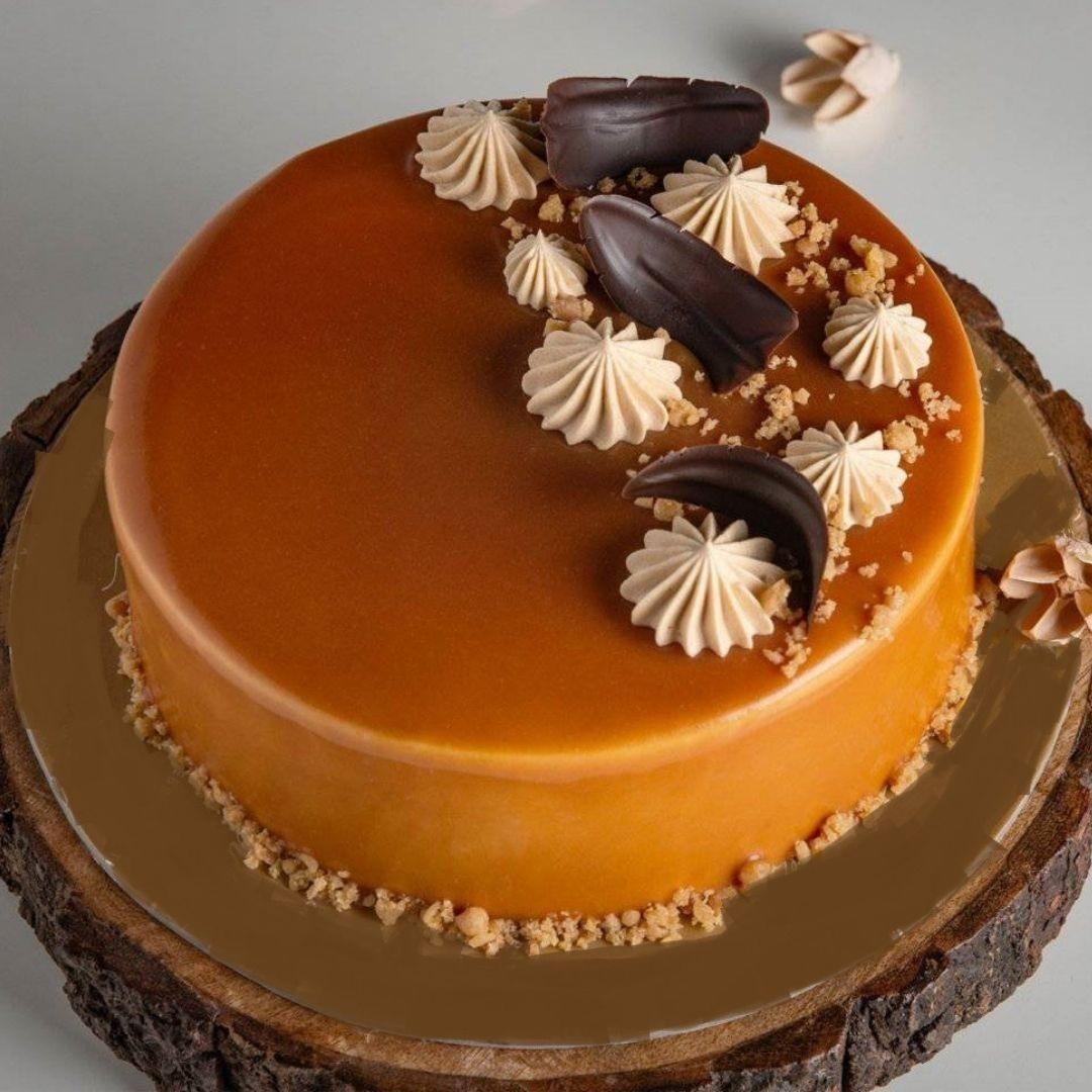 Decent Butterscotch Cake