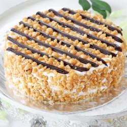 Crunchy Butterscotch Cake [500g]