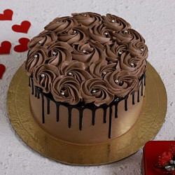 Rose Chocolate Cake [1kg]