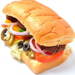 VEG SHAMI KABAB SUB SANDWICH (6IN)