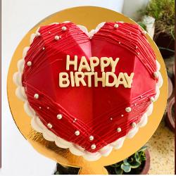 Hammer Pinata Red Velvet Cake