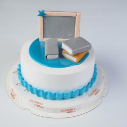 Teachers day blackforest cake [500 Gram]