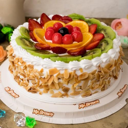 Classic Fresh Fruit Cake [500g]