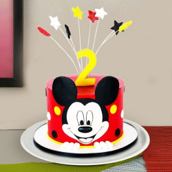 Pineapple Cake Mickey Mouse