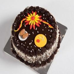 Chocolate Rakhi Theme Cake