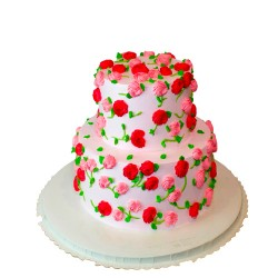 CAKES CREAM PINEAPPLE D24 (E/L)