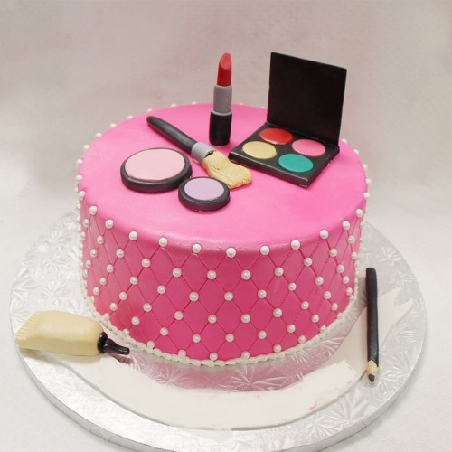 Daughters day Chocolate Fondant Cake