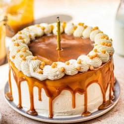 Butter Scotch Cramel Drop Cake [1kg]