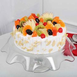 Mouthwatering Fresh Fruit Cake [500g]