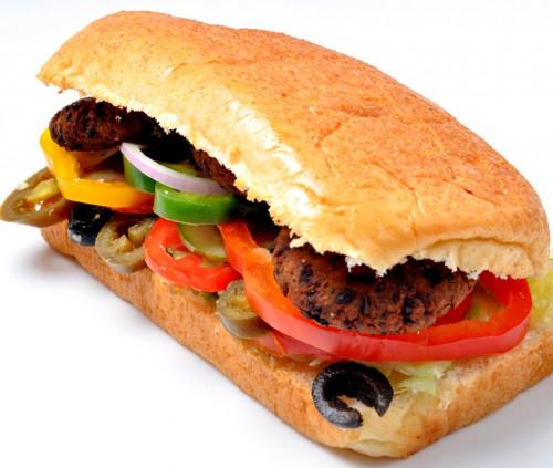 VEG HARIYALI KABAB SUB SANDWICH (6)
