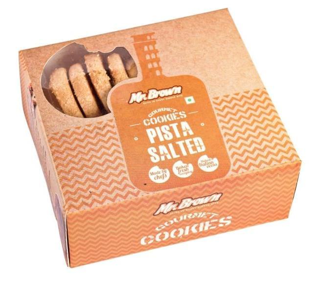 Pista Salted Cookies [500 Gram]