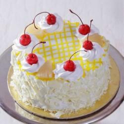 Cherry Round Pineapple Cake [500g]