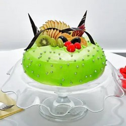 Fresh Fruit Glaze Cake  [1kg]