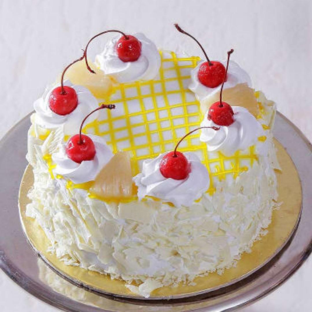 Pineapple Cream Cake [500g]
