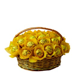 CHOCOLATE BASKET (MEDIUM)