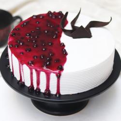 Glaze Blueberry Cake [1kg]