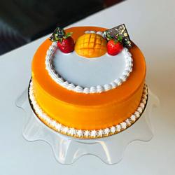Tempting Mango Cream Cake [500g]