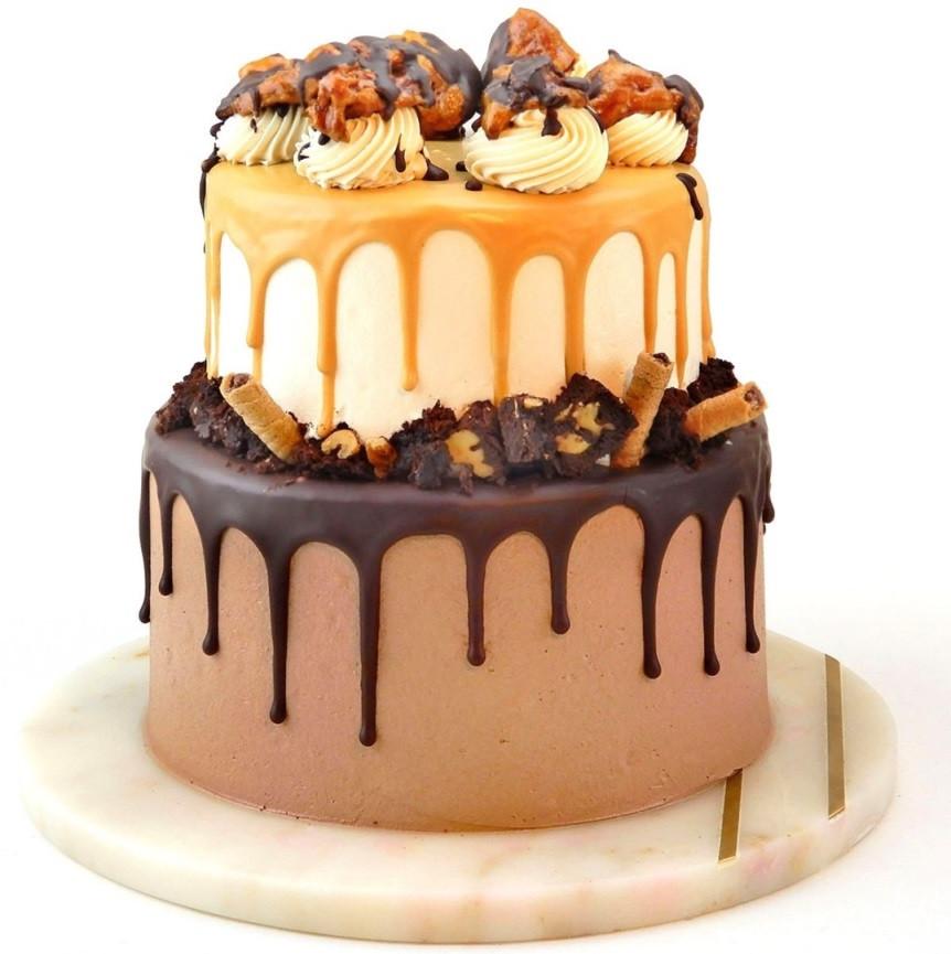 CAKES CHOCO N BUTTERSCOTCH (E/G)
