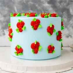 Pretty Pineapple Cake [1kg]