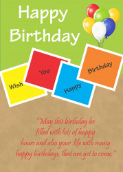 BIRTHDAY CARD 2