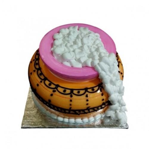 Beautiful Handi Butterscotch Cake (500g)